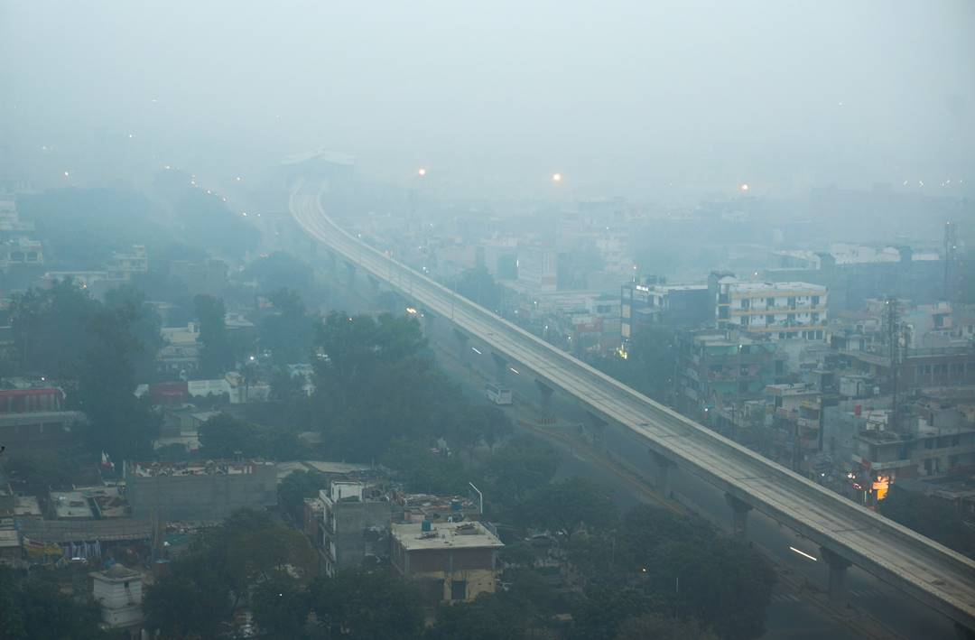 Vehicular pollution in Delhi