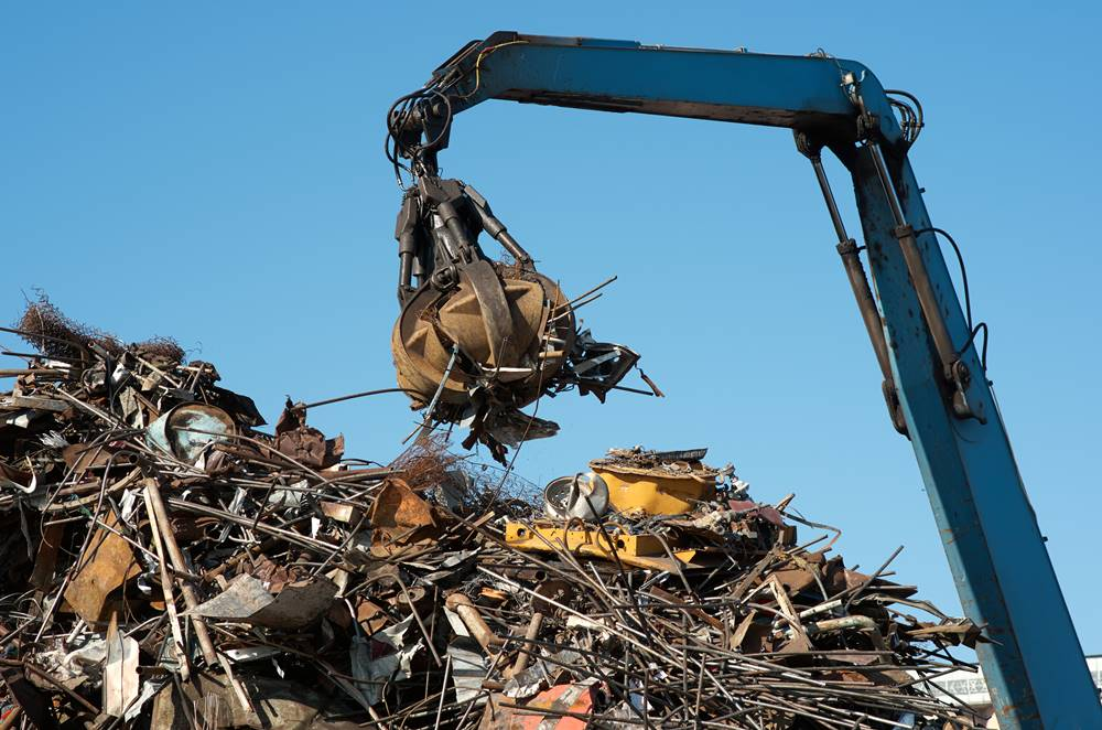The benefits of steel from scrap metal